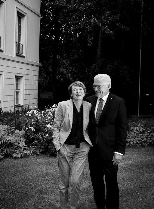 Frank Walter Steinmeier und Elke Büdenbender, 2017
